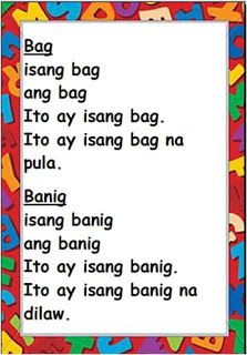 Practice reading with these Tagalog Reading Passages. These can be useful for remedial instruction, made into reading charts or posted in . Classroom Walls, Classroom Setup, Reading Charts, Visual Aids, Tagalog, Reading Passages, Picture Cards, Kindergarten Teachers, Reading Material