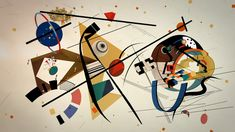 Wassily Kandinsky, the Master of abstraction, is believed to have had synaesthesia, a harmless condition that allows a person to appreciate sounds, colours or words with two or more senses simultaneously. Joan Miro Paintings, Chagall Paintings, Modern Art Paintings, Paintings Famous, Kandinsky For Kids, Kandinsky Art, Wassily Kandinsky Paintings, German Expressionism Art, Abstract Expressionism
