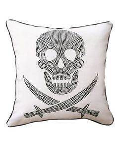 Naked Decor 'Skull' Decorative Pillow