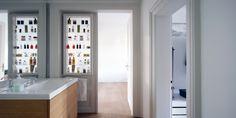 Bathroom door by OFIS Architects