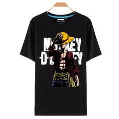 One Piece T-Shirt - Badass Luffy Shirt