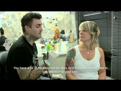 Tattoo Artists in Brazil are being trained to detect signs of and educate clients about skin cancer - YouTube
