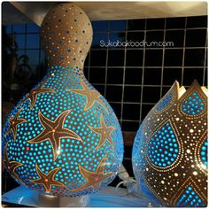 Seastars gourd lamp.