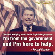 Another great Reagan Quote.