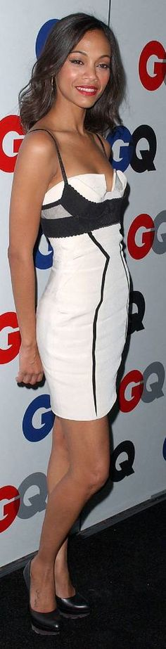 Zoe Saldana Zoe Saldana, Peplum Dress, Bodycon Dress, Beautiful People, Beautiful Women, Feminine Style, Playing Dress Up, Nice Dresses, Hot Girls