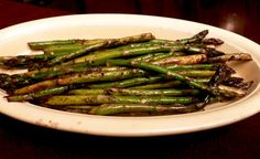 Asparagus Grilled With An Asian Touch Recipe - Genius Kitchen