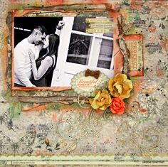 Swirlydoos Scrapbook Kit Club: Debbie's November Kit Second Reveal Using the November 2014 kit.  swirlydoos.com