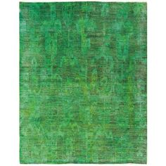 LIME GREEN / BRONZE OVERDYED RUG 7.8X9.7 - Collections - Rugs - HD Buttercup
