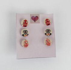 FREE Registered Shipping  Set of three pair of retro by IL2C, $18.00