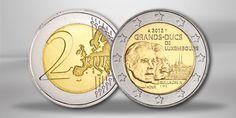 Luxemburg 2 Euro Sondermünze Wilhelm IV. 2012