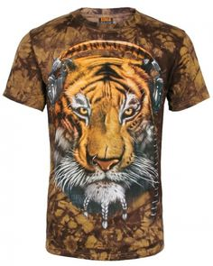 64fbfc8d56bd mens 3D tie dye tiger t shirt cool animal camouflage short sleeve tshirt-  Cool Hoodies