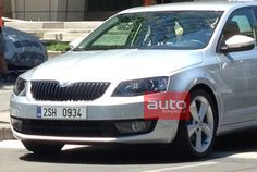 2013 Skoda Octavia Spied with Clear Pictures and Details | Autogadget  http://autogadget46.blogspot.in/2012/12/2013-skoda-octavia-spied-with-clear.html