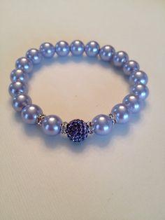 Lavender Bracelet by SharonKrug on Etsy, $24.50