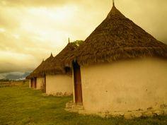 Casas de Pemones en la Gran Sabana