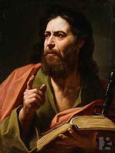 I like this painting of the apostle Paul, an amazing, and thoroughly Godly man and definitely very inspiring to me.