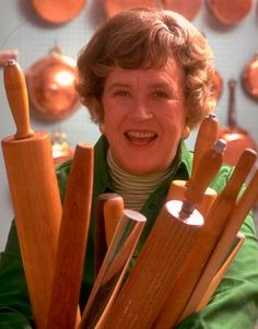 I'm no cook. My wife, (I love you Hunny!), isn't all that great of a cook either. Without great cookbooks and inspiration we would be doomed. My dream kitchen must include cookbooks and who better than Julia Child - Julie on Julia