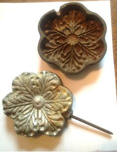 millinery tools pinterest vintage antique millinery petal tool die mold ebay silk flowersfabric mightylinksfo Gallery