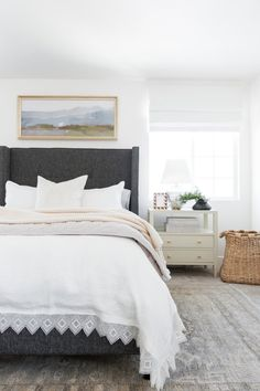 How To Style Your Bed Tutorial - Bedding from mcgeeandco.com