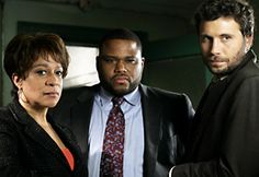 Epatha Merkerson, Anthony Anderson and Jeremy Sisto, Law & Order