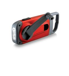 The American Red Cross Clipray the crank-powered, clip-on flashlight and smartphone charger, ARCCR100R-SNG - Basic Handheld Flashlights - Amazon.com