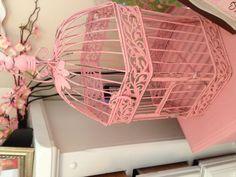 Ava's decor birdcage I got for her room :)