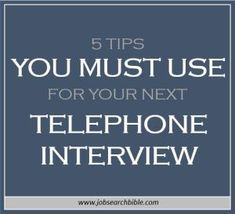 If there are a large number of good candidates for a role it is common for the employer to have a round of telephone interviews to further filter candidates, in a cost and time efficient way. Even though you are not face-to-face with your interviewer in a telephone interview, you need to be just as well prepared. Here are our top tips for a good performance in a telephone interview…
