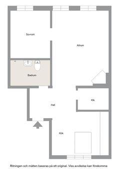 Design noir dans un appartement de 53m2 - PLANETE DECO a homes world Style Tropical, Floor Plans, Design, Simple, Black, Black Barn, Tiny Spaces, Decorations, House