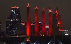 Kansas City paints town red in support of Chiefs | The Kansas City Star