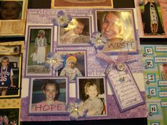 Creations from my heart: Creating a memory board....