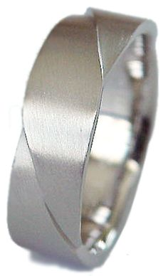 New Designer Cut Man's 935 Sterling Silver 7 mm wide Wedding Band ring Comfort Fit No Tarnish. Available in Platinum and Gold too! #weddingrings