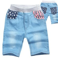 49440c1812 Kids Boys Girls Casual Jeans Shorts Bottom Pants Costume Clothes Trousers  New