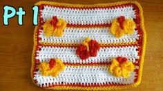Butterfly Stitch Tutorial PT 1 - Crochet Tutorial