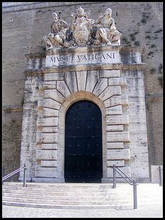 Entrance to Vatican Museums, Vatican City, Italy
