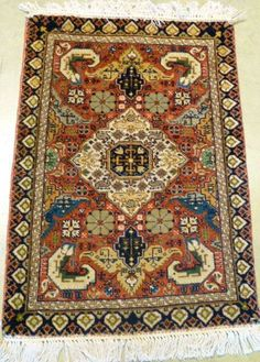 Rugs are also a piece of art - This Antique Tabriz is in our rare and unusual section! #interiordesign