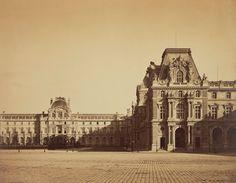 The Pavillon Mollien at the Louvre. Paris. Gustave Le Gray, 1859.
