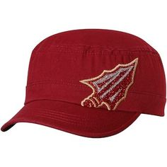 official photos ce4da 9e82c Florida State Seminoles Top of the World Women s Party Girl Cadet Hat -  Garnet Florida State