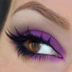 #makeup #eyes #color #eyeshadow #eyeliner