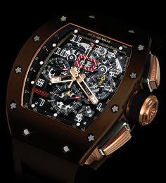 La Cote des Montres : La montre Richard Mille RM 011 en Nitrure de Silicium - Un nouveau matériau à la teinte unique, inédite en horlogerie