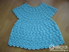Dresses - Crochet Patterns for Baby  If I only understood how to read crochet charts. Needs to be translated