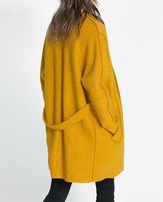Image 4 of FANTASY COAT from Zara
