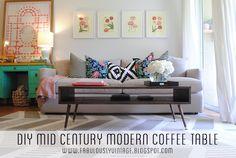 DIY Mid Century Mode