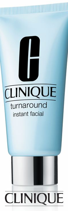 In 5 minutes, Clinique Turnaround Instant Facial delivers all the radiance and smoothness of microdermabrasion-with less irritation and stress to skin. Get sparkling.