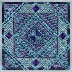 Sampler Collection - Ace of Diamonds by Laura J Perin (WISHLIST)-have this one to do....oh so many