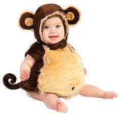 Disfraz de chango... Disfraces bonitos para bebé en...http://www.1001consejos.com/6-mejores-disfraces-para-bebes/