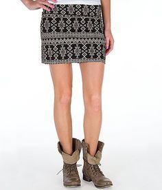 Billabong Sweet Amor Body Con Mini Skirt