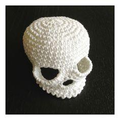 virkad döskalle sveaspunkt härmapan virkat för män crochet skull