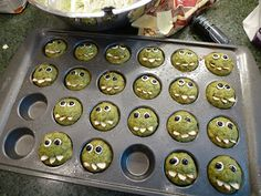 Green Monster Edibles - great healthy recipe, too.