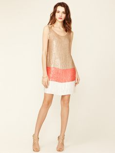 Sequin Shift Dress by Alexia Admor on Gilt.com