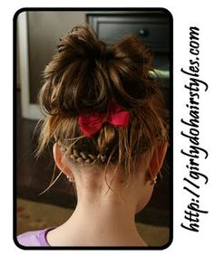 Girly Do Hairstyles: By Jenn: Messy Buns