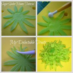 how to make sugar flower